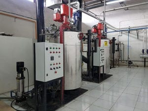 Replace Industrial Steam Boiler